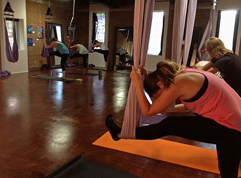Yoga Warrior: Aire  Yoga Class