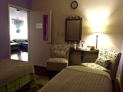 Heaven Massage Therapy Room