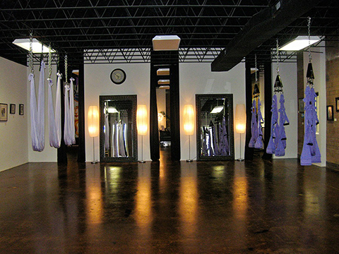 oga Warrior Studio: Big Yoga Room