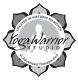 YogaWarriorLogoBW